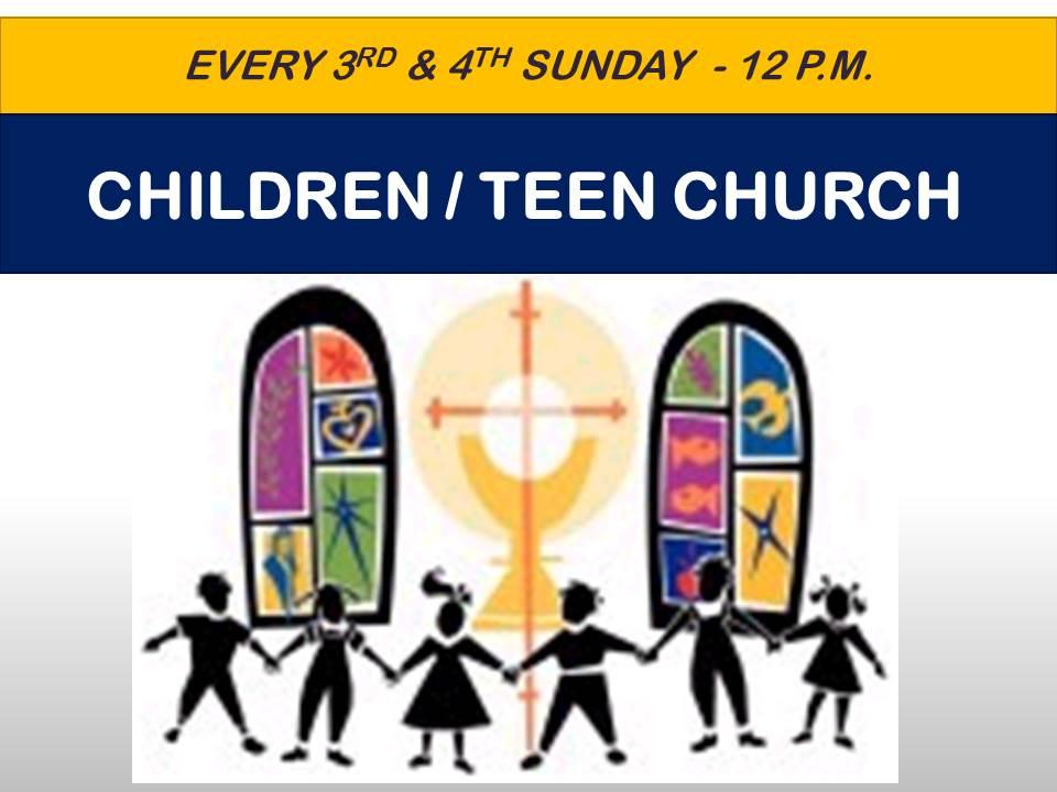 ChildrenTeen Church