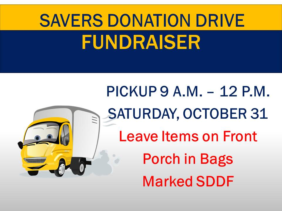 Savers Donation Drive Fundraiser New Solid Rock