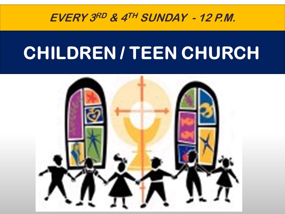 ChildrenTeen Church